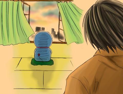 哆啦A夢沒有縫隙的抽屜